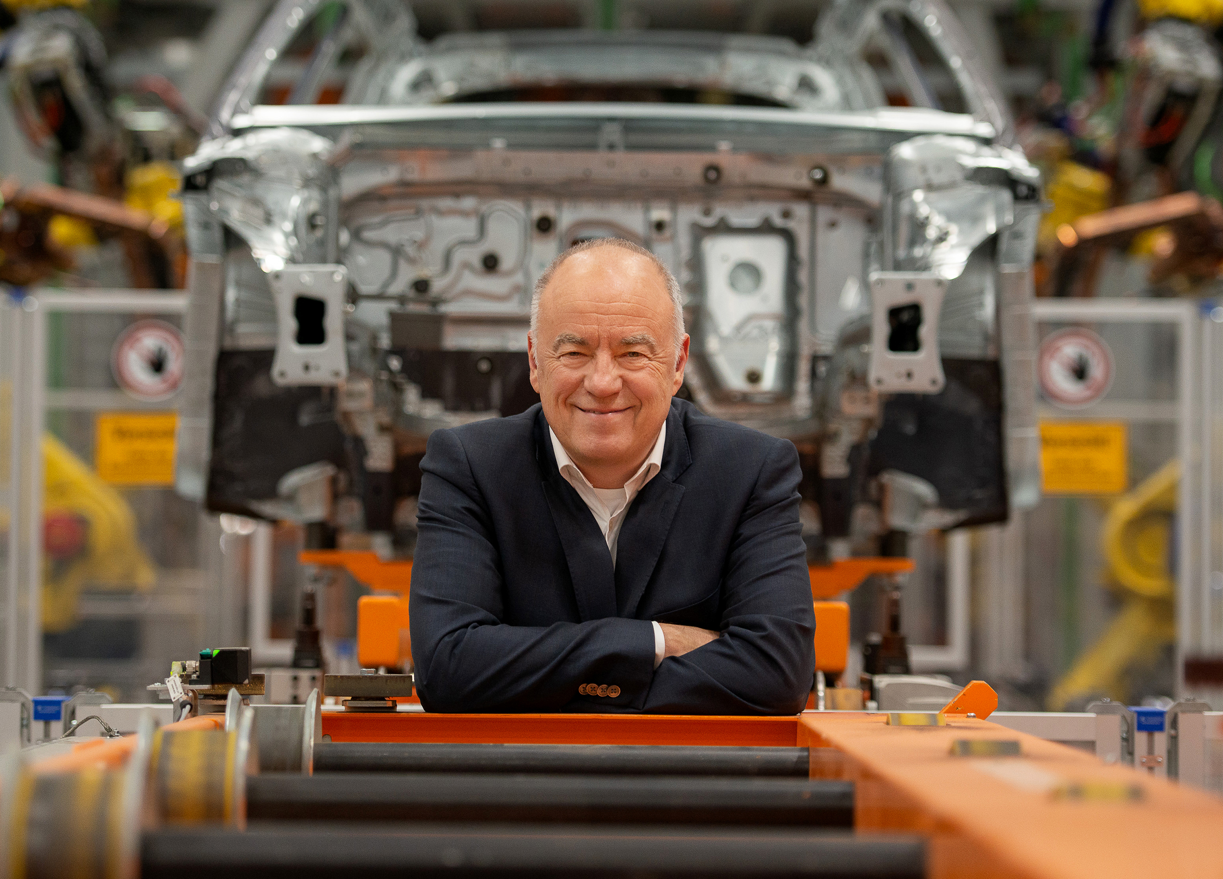 Extensive experience: Production board member Peter Kössler joined Audi in the mid-1980s as a trainee.